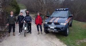 Подростки катались в крымских горах и заблудились. На помощь пришли спасатели МЧС