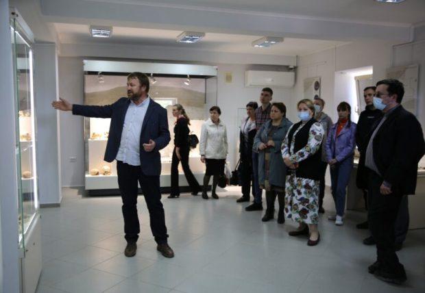 В Херсонесе Таврическом открылась вторая часть выставки «Беспокойные соседи»