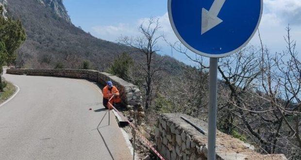 Движение транспорта по горной дороге «Гончарное – Ялта» ограничено