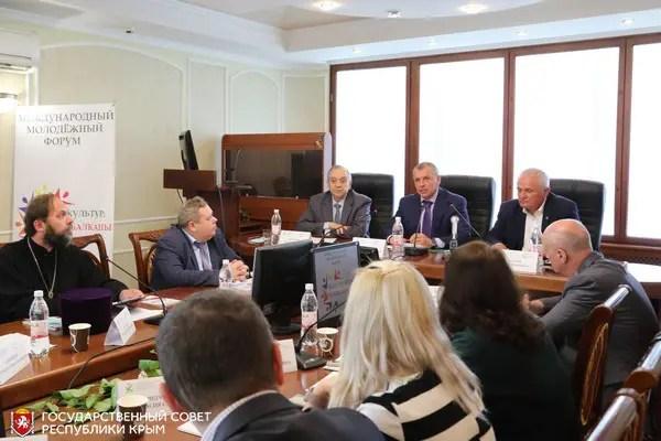 Владимир Константинов встретился с участниками молодежного форума «Диалог культур: Россия — Балканы»