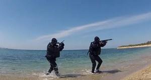 В Крымской военно-морской базе Черноморского флота отразили атаку «диверсантов»