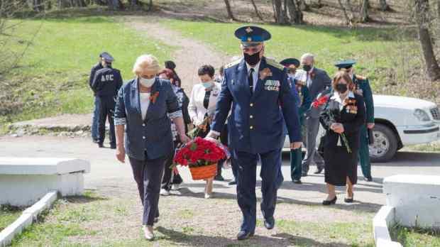 В Крыму почтили память партизан, погибших в годы Великой Отечественной войны