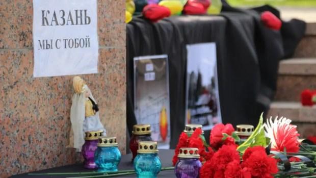 Крым скорбит вместе с жителями Казани: на полуострове проходят траурные мероприятия