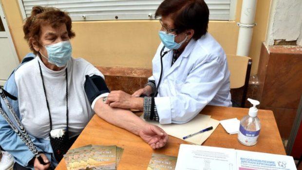 В Симферополе состоялась акция, посвященная Всемирному дню борьбы с артериальной гипертонией