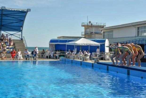 В Евпатории - Всероссийские соревнования по синхронному плаванию «Звёзды Крыма»