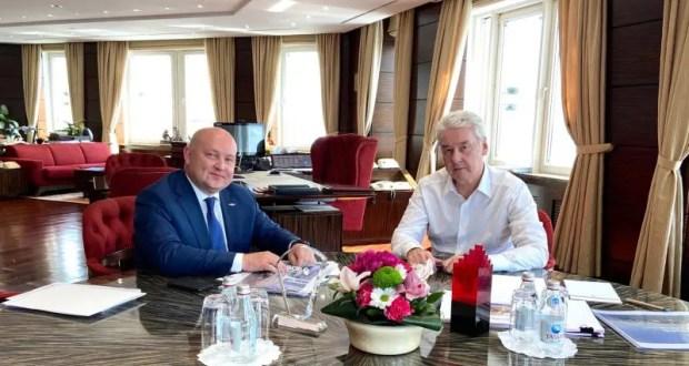 Встреча мэра Москвы и губернатора Севастополя - о чём шла речь?