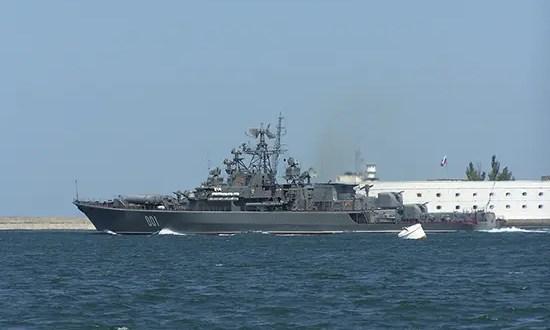 Сторожевой корабль «Ладный» Черноморского флота вышел в море для проведения испытаний