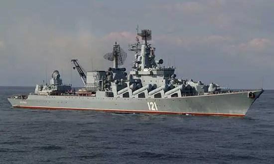 Крейсер «Москва» и фрегат «Адмирал Григорович» Черноморского флота вернулись в Севастополь