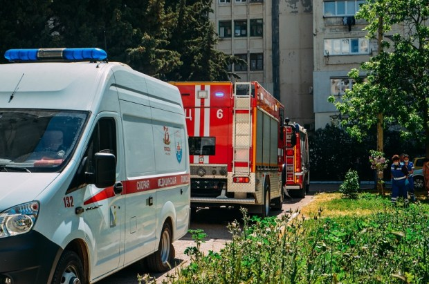 На пожаре в Севастополе спасли… черепаху