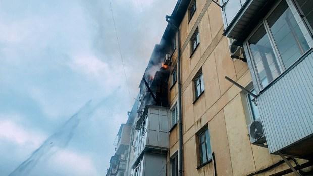 Утренний пожар в Севастополе: эвакуировано 28 человек, есть пострадавший