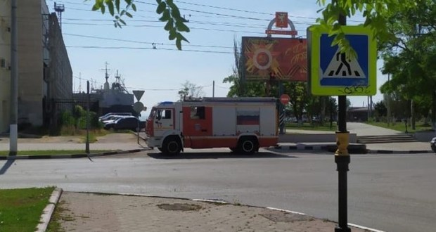 Очередное «минирование» в Крыму – на этот раз аноним сообщил о бомбе в здании администрации Керчи