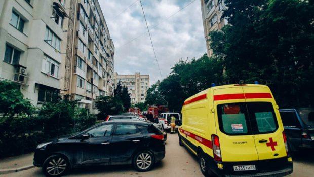 За выходные севастопольские огнеборцы совершили 21 боевой выезд: трижды тушили пожары