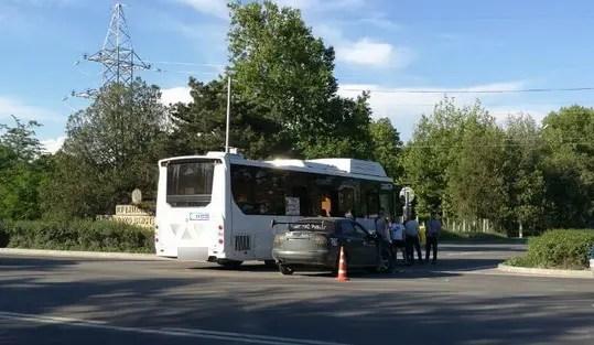 Полиция проводит проверку по факту ДТП в Симферопольском районе с участием автобуса