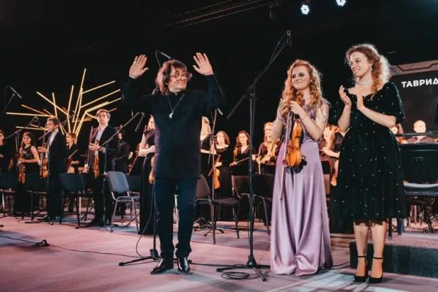 На «Тавриде» - Юрий Башмет: благотворительный концерт и открытие именной звезды
