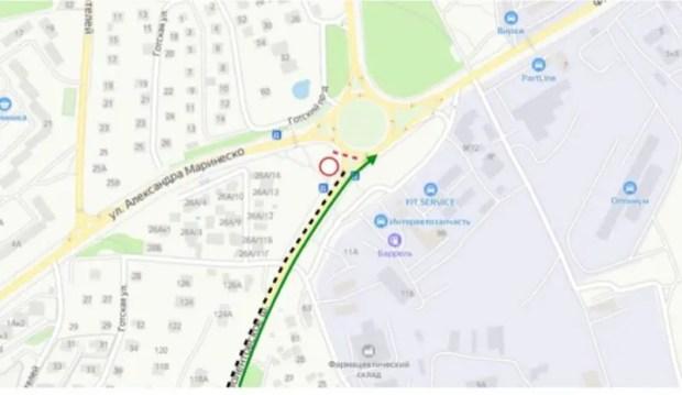 В Севастополе на Камышовом шоссе временно ограничат движение транспорта
