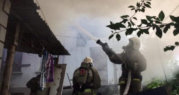 Утренний пожар в Севастополе – горела деревянная пристройка в СТ «Сапун-гора»