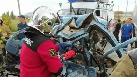 За прошедшие сутки «КРЫМ-СПАС» дважды оказывал помощь в ликвидации последствий ДТП