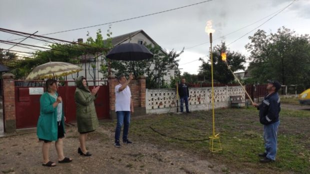 В Села Первомайского и Кировского районов пришел природный газ