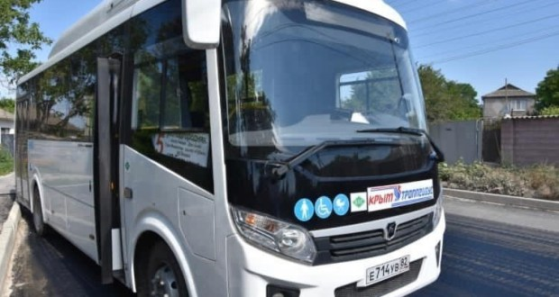 В Бахчисарае выходит на городской маршрут новый автобус