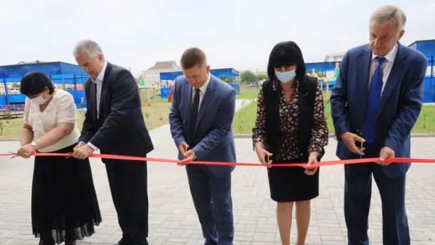 В Симферополе открылся новый детский сад на 260 воспитанников