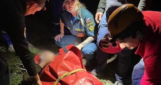 Вечернее происшествие в Симферопольском районе: в урочище Таш-Джарган с обрыва сорвался парень