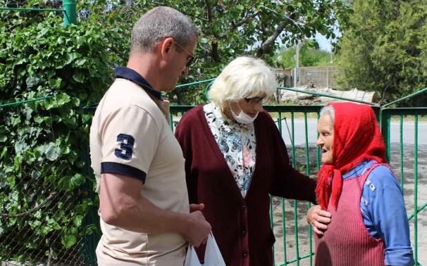 Севастопольский «Доброволец» решил узнать, как живут одинокие старики, инвалиды в селах Орлиновского МО