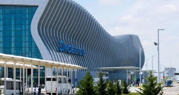 """Кровлю терминала аэропорта """"Симферополь"""" восстановят после крупного града"""