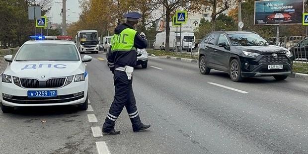 Госавтоинспекция Севастополя подвела итоги операции «Пешеходный переход»