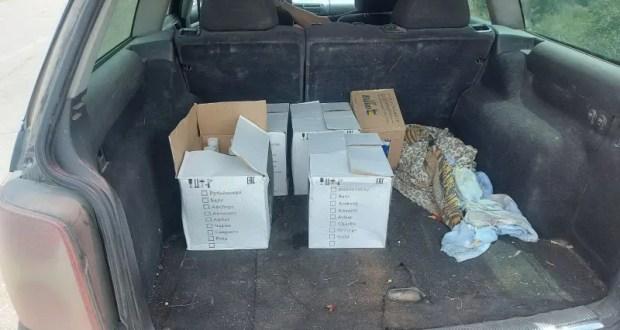 В г. Феодосии Госавтоинспекцией установлен водитель, перевозивший алкогольную продукцию без акцизных марок