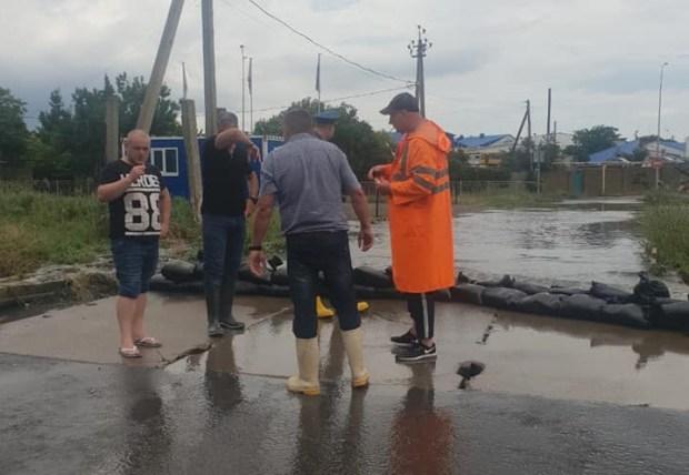 Итоги «потопа» в Саках: город справился, помощь республиканских структур не понадобилась