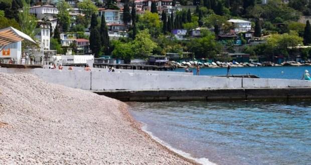 В Большой Ялте запрещено купаться на 16 пляжах