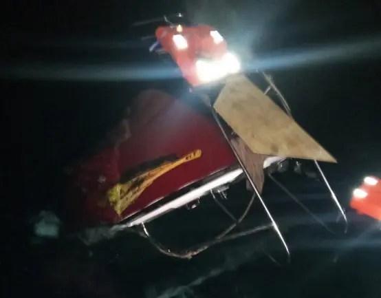 Вблизи мыса Фиолент, в Черном море затонул прогулочный катер