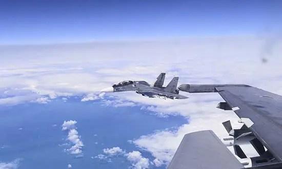 Морская авиация Черноморского флота совместно провела учебно-боевые полёты