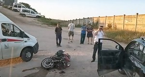 Смертельное ДТП на Северной стороне Севастополя. Погиб водитель мотоцикла