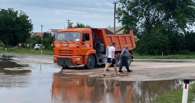 Информационная сводка о подтоплении в Керчи и Ялте. Утро 9 июля
