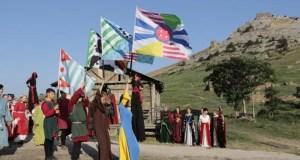 В Судакской крепости проходит первый фестиваль средневековой культуры «Солдайя»