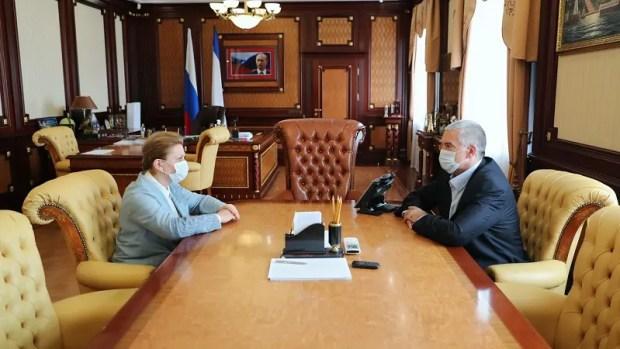 Глава Роспотребнадзора Анна Попова приехала в Крым. Говорит: обстановка на полуострове – напряженная
