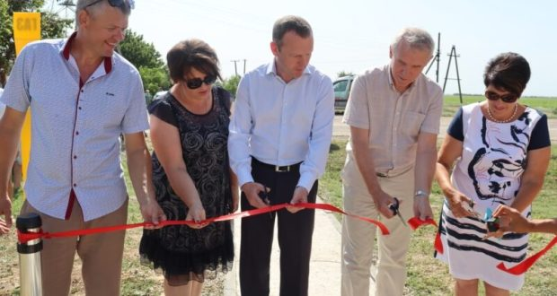 Еще одно крымское село газифицировано