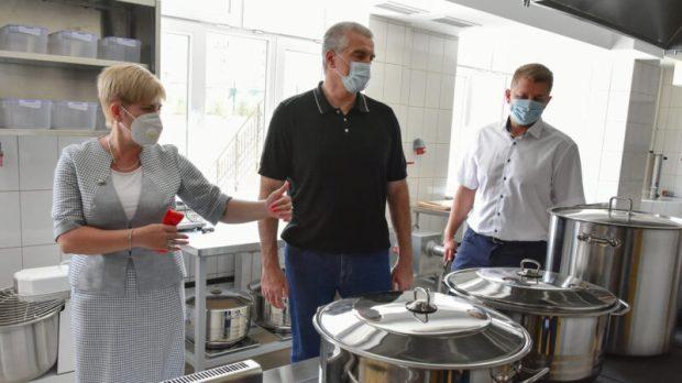 Сергей Аксёнов открыл детский сад на 260 мест в Симферополе
