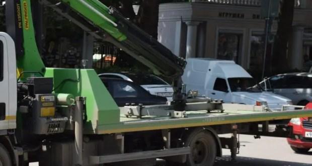 В Ялте будут эвакуировать брошенные автомобили