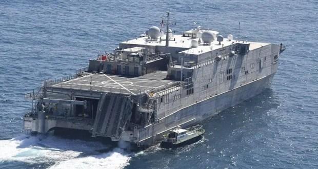 Транспортно-десантное судно ВМС США направился в Черное море