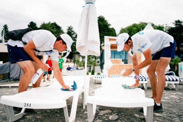 Пляж «Ривьера» в Сочи соответствует мировым требованиям безопасности
