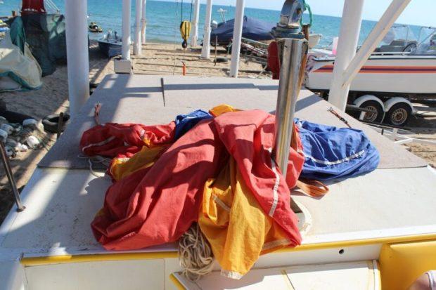 ЧП в Евпатории: на водно-воздушном аттракционе «Парашютинг» пострадала женщина