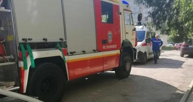 На пожаре в Красноперекопске спасен мужчина