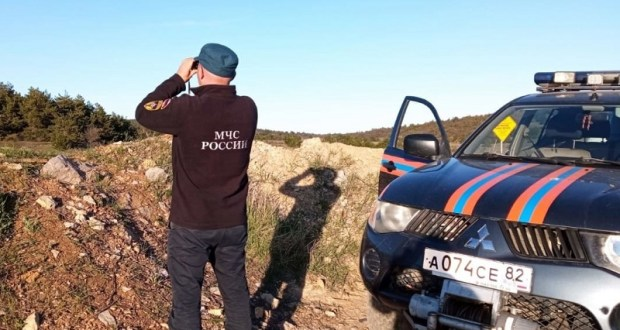 Во время прогулки по Долгоруковской яйле стало плохо туристу. Помощь спасателей пришла вовремя
