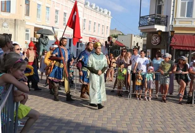 В Феодосии отметили 250-летие первой победы русской армии в Крыму