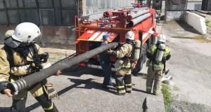 Тяжело в учении. Крымские огнеборцы потушили «пожар» на элеваторе в Джанкойском районе