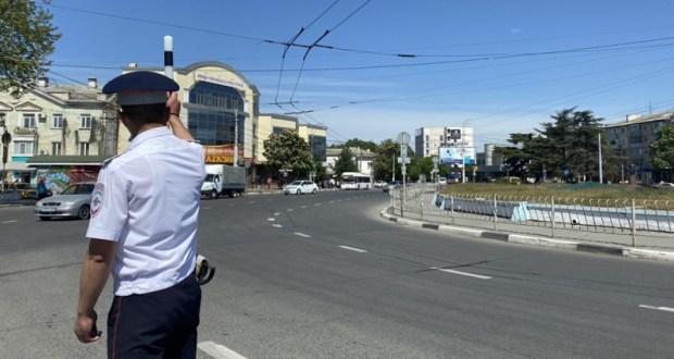 Вниманию автомобилистов: в Симферополе ГИБДД проводит операцию «Перекресток»