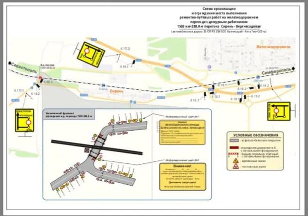 Вниманию водителей транспорта: в Крыму – ограничение движения на двух дорогах