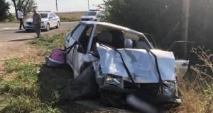 ДТП в Сакском районе Крыма: пятеро пострадавших